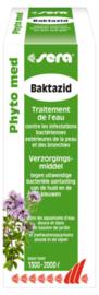 Sera Baktazid tegen bacteriële infecties 100ml - voor 1300/2000 liter aquarium