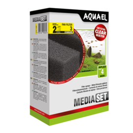 Vervangsponzen voor de Aquael FAN 3 aquariumfilter