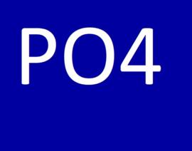 De PO4 waarde (fosfaat)