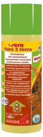 Sera Flore Ferro, vloeibare ijzer  aquariumplanten voeding 250ml