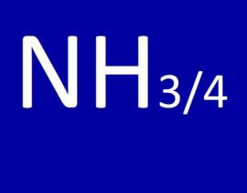 De NH3/4 waarde (ammoniak/ammonium)