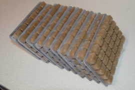 Diepvriesvoeding Mysis 10x 100 gram