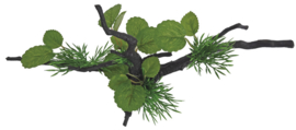 SF Deco spider & plants M