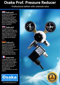Osaka CO2 Drukverminderaar Professional incl. Magneetventiel