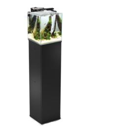 Osaka  Nano Aquarium Cube 49ltr zwart / Scapers tank met meubel