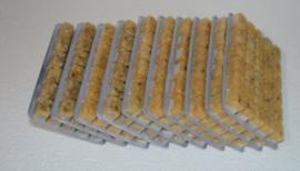 Diepvriesvoeding Mosselvlees 10x 100 gram