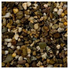 Aquarium grind donker 3-6 mm 8kg