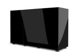 Glossy 150cm aquarium meubel zwart