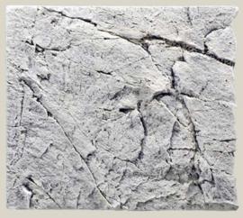 White Limestone 60A   aquarium  3D achterwand module