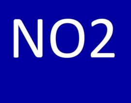 De NO2 waarde (nitriet)