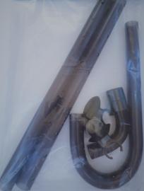 Sera 16/22mm aansluitset uitvoer met sproeibuis