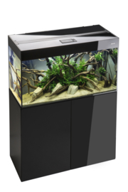 Osaka Glossy aquarium 150 Black + Meubel