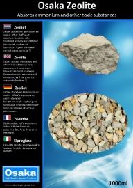 Osaka Zeolite 1000ml  filtermateriaal