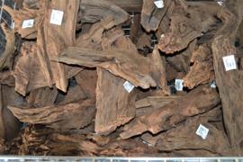 Driftwood / kienhout 17-29cm groot, aquarium decoratie hout