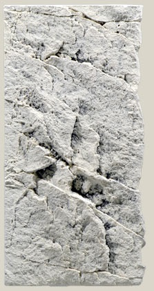 White Limestone 50C   aquarium  3D achterwand module