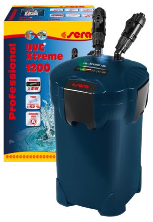 Sera professional uvc Xtreme 1200  aquarium buitenfilter