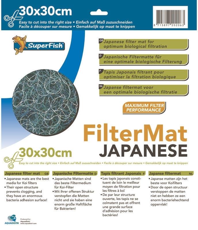 SF Filtermat Japans 30x30cm