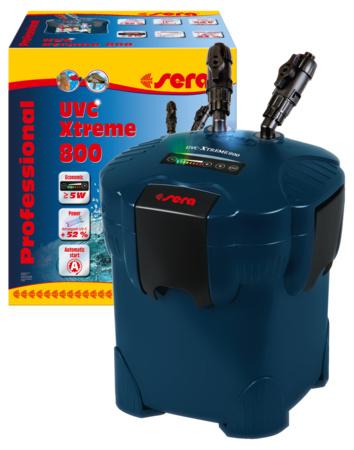 Sera professional uvc Xtreme 800 aquarium buitenfilter