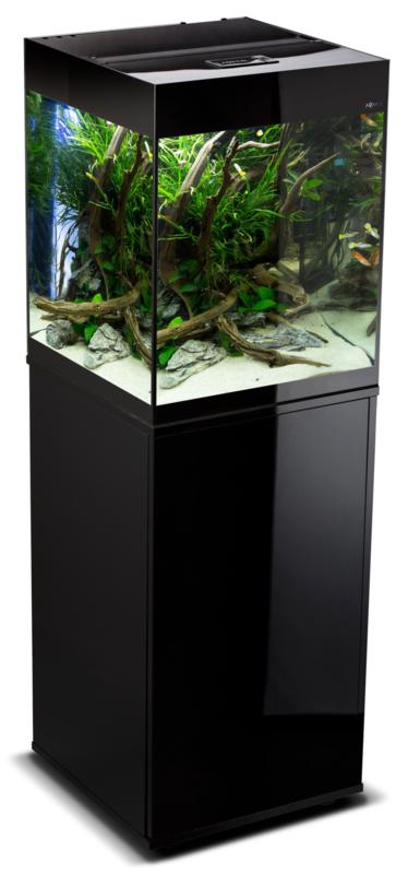 Osaka Glossy aquarium 50 Cube + Meubel