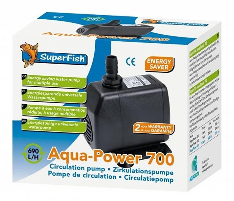 AQUA-POWER 700 - 690 L/H   aquarium pomp