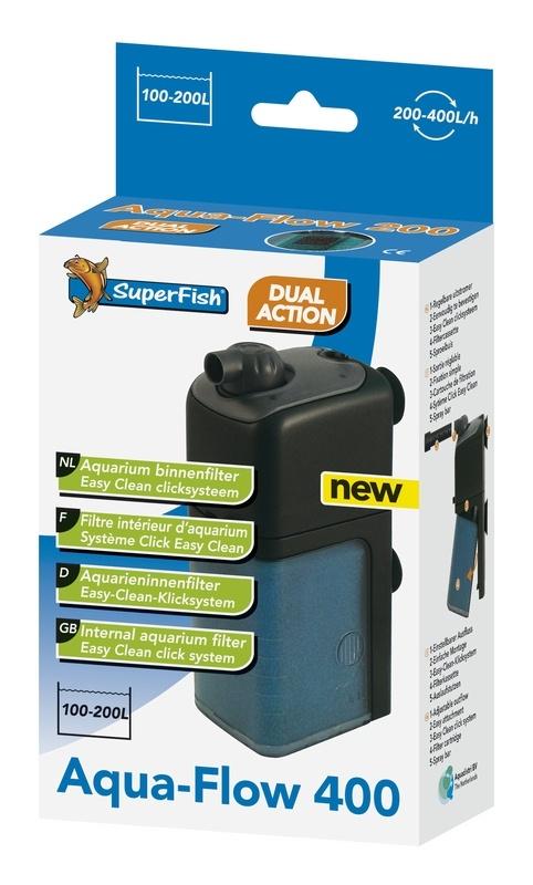 SuperFish Aquaflow 400 aquarium binnenfilter