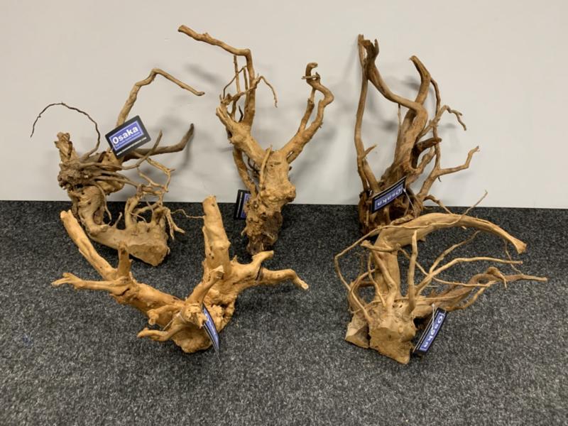 Spiderwood 35-50cm groot, aquarium decoratie hout