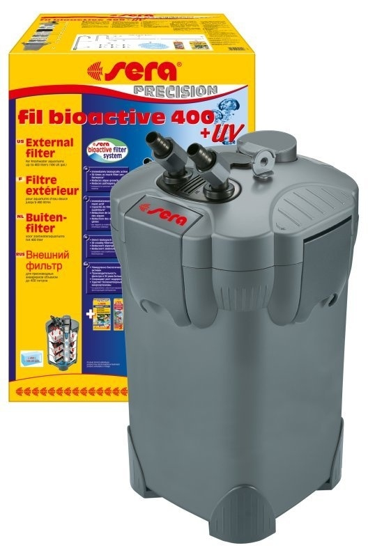 Sera fill bioactive 400 met uvc filter  aquarium buitenfilter