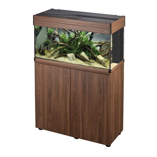 Osaka Aspect aquarium 100 Salina Oak  set + meubel