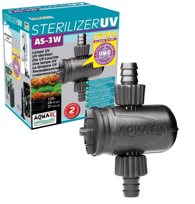 Aqua 3watt aquarium uv filter