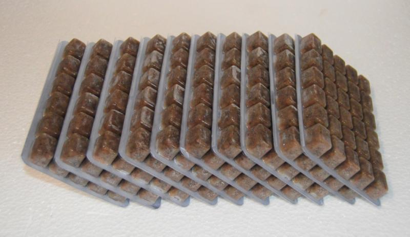 Diepvriesvoeding Artemia  10x 100 gram