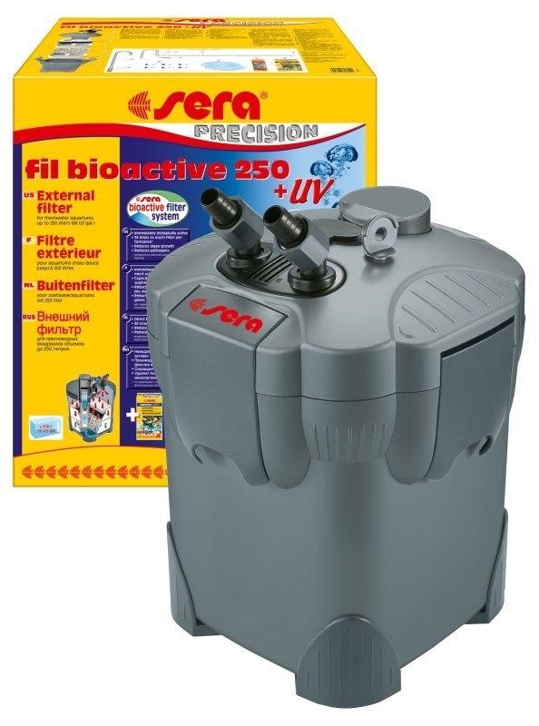 Sera fill bioactive 250 met uvc filter  aquarium buitenfilter