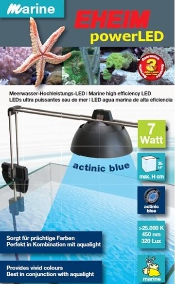 Eheim PowerLED Actinic blue 7 watt