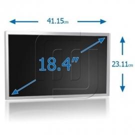 "LCD 18.4"" WSXGA+ HD 1680 x 945 1XCCFL Notebook Matte TFT Scherm [LCD184S01M]"