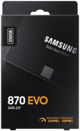 250GB Samsung 870 EVO