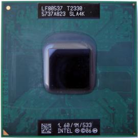CPU Mobile Intel Pentium T2330