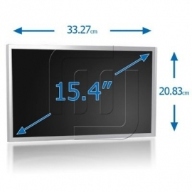 "15.4"" LCD WXGA 1200x800 notebook Matte panel with Inverter [LCD154S04M]"
