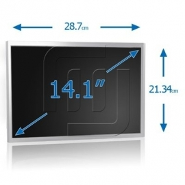 "14.1"" LCD WXGA 1280x800 Notebook Glossy TFT Scherm [LCD141S00G]"