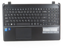 Acer aspire E1-572G palmrest touchpad w keyboard