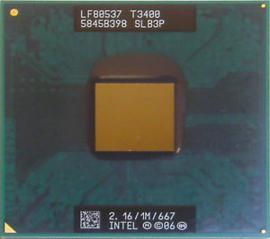 CPU Mobile Intel Pentium T3400