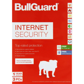 Bullguard  Internet Security  3 pc's  RETAIL