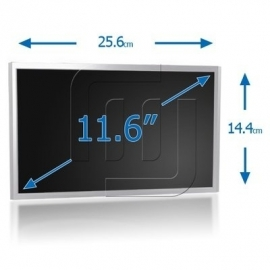 "11.6"" LED WXGA HD 1366x 768 Notebook Glossy Scherm [LED116S00G]"