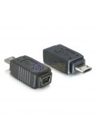 USB Mini B naar Micro B adapter