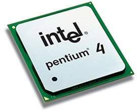 CPU Desktop Intel Pentium 4