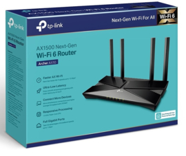 TP-Link Dual Band Router AX1500 Archer AX10