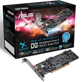 Asus Xonar DG PCI 5.1 Geluidskaart