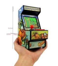 Mini Arcade game kast 16bit met 156 games
