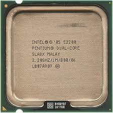 CPU Desktop Intel Pentium Dual Core E2220