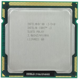 CPU Desktop Intel Core i3 540