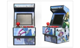 Mini Arcade game kast 16bit met 156 games