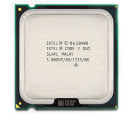 CPU Desktop Intel Core 2 Duo E8400